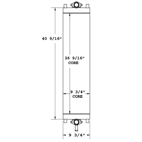 270489 - Komatsu PC220-8 Oil Cooler Oil Cooler