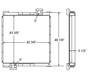 270511 - Industrial Oil Cooler Oil Cooler