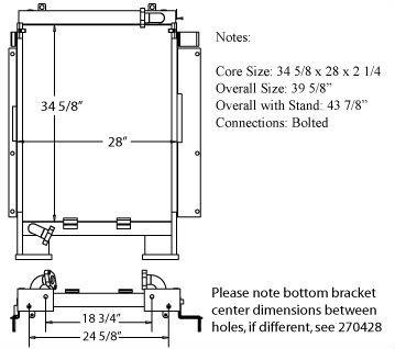 270515 - Komatsu PC228USLC-1 Oil Cooler Oil Cooler