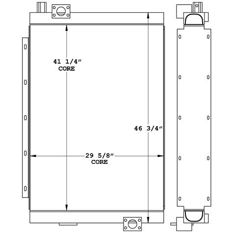 270516 - Atlas Copco CM780D Drill Rig Oil Cooler