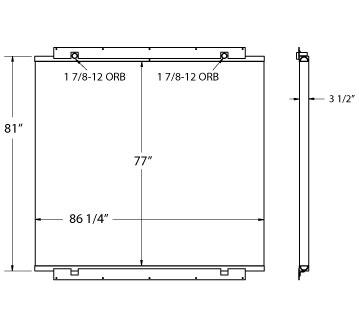 270517 - Atlas Copco Oil Cooler Oil Cooler