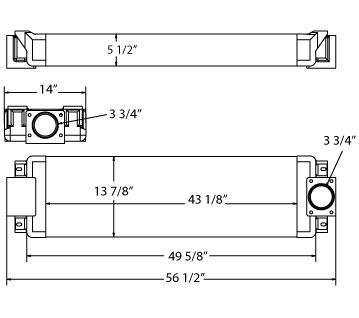 270518 - Komatsu Oil Cooler Oil Cooler