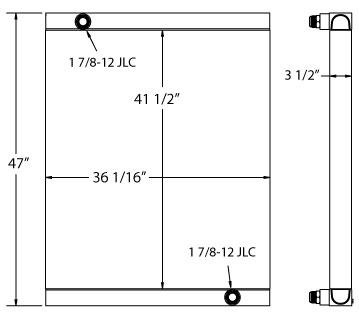 270530 - Hogzilla Stump Grinder Oil Cooler
