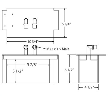 270540 - Schmole Heater Core Heater Core