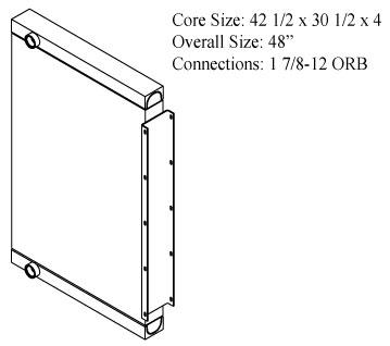 270546 - Industrial Oil Cooler Oil Cooler