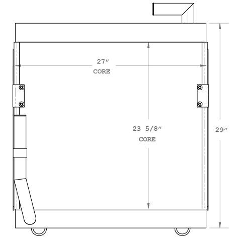 270555 - Industrial Oil Cooler Oil Cooler