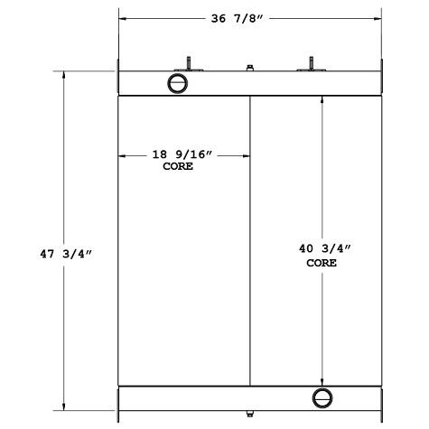 270558 - Industrial Oil Cooler Oil Cooler