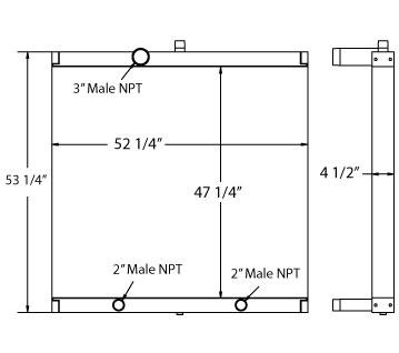 270570 - Industrial Oil Cooler Oil Cooler