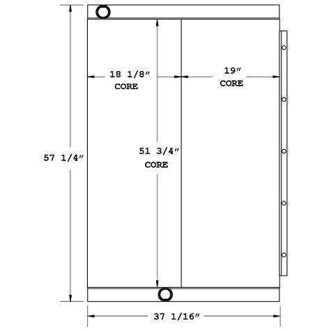 270576 - Industrial Oil Cooler Oil Cooler