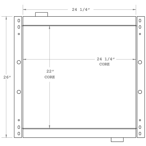 270578 - Industrial Oil Cooler Oil Cooler