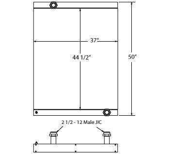 270592 - Industrial Oil Cooler Oil Cooler