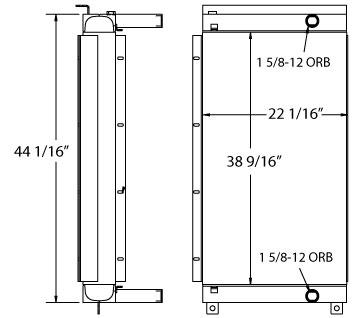 270594 - Ingersoll Rand Oil Cooler Oil Cooler