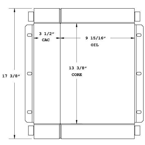 270607 - Compressor Oil Cooler Oil Cooler