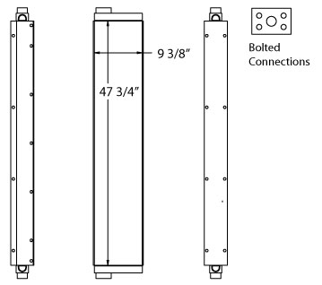270611 - Industrial Oil Cooler Oil Cooler