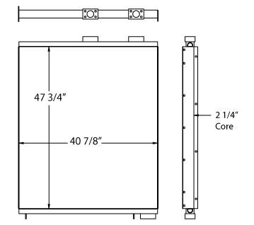 270612 - Industrial Oil Cooler Oil Cooler