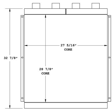 270615 - Industrial Oil Cooler Oil Cooler
