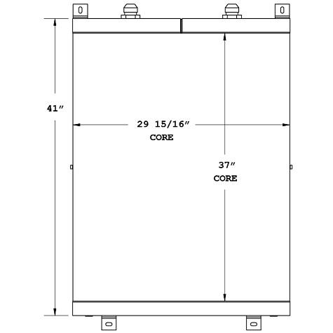 270616 - Industrial Oil Cooler Oil Cooler