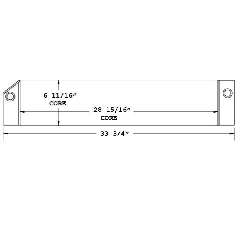 270618 - Manitou Forklift Oil Cooler