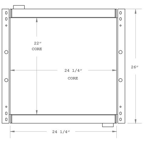270620 - Industrial Oil Cooler Oil Cooler