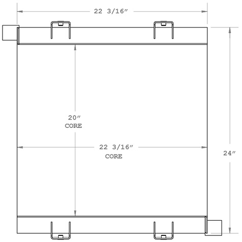 270622 - Industrial Oil Cooler Oil Cooler