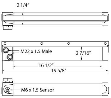 270624 - Murphy Diex MWM Cooler Oil Cooler