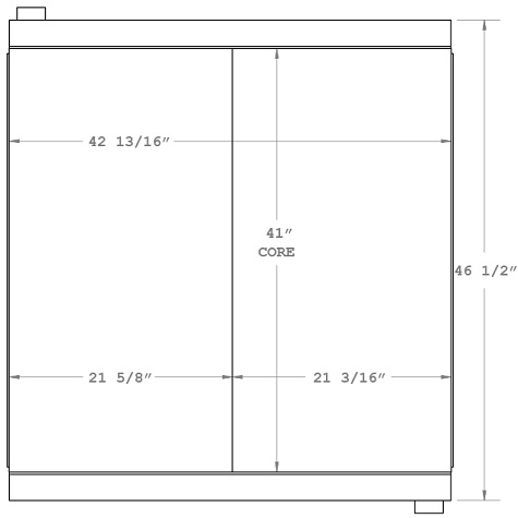 270625 - Industrial Oil Cooler Oil Cooler