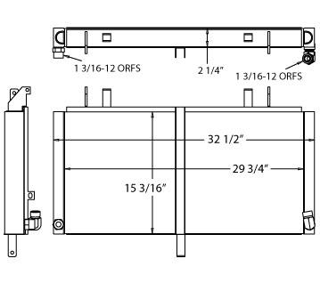 270626 - Industrial Oil Cooler Oil Cooler