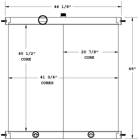270631 - Industrial Oil Cooler Oil Cooler
