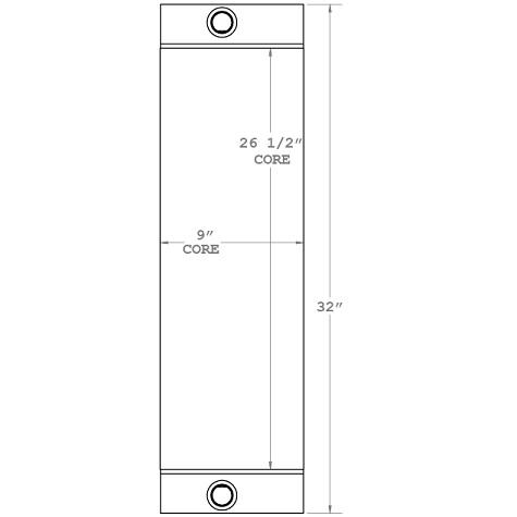 270632 - Industrial Oil Cooler Oil Cooler