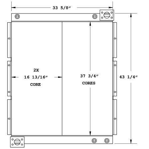 270634 - Industrial Oil Cooler Oil Cooler