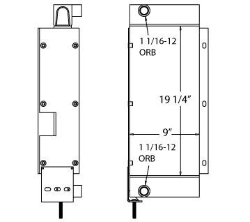 270637 - JLG G5-18A Oil Cooler Oil Cooler