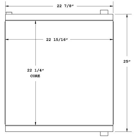 270639 - Industrial Oil Cooler Oil Cooler