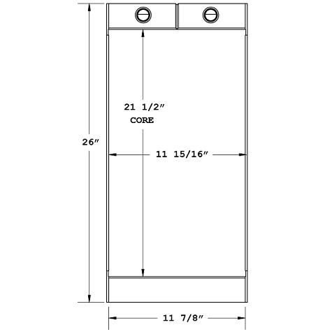 270640 - Industrial Oil Cooler Oil Cooler