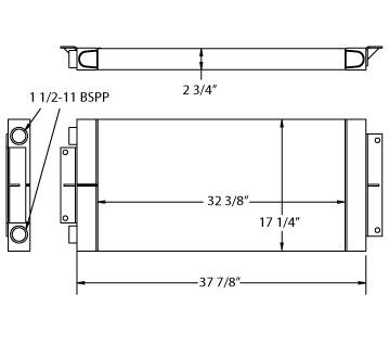 270641 - Industrial Oil Cooler Oil Cooler