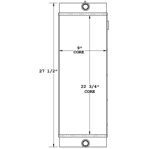 270650 - Elgin Sweeper Oil Cooler Oil Cooler