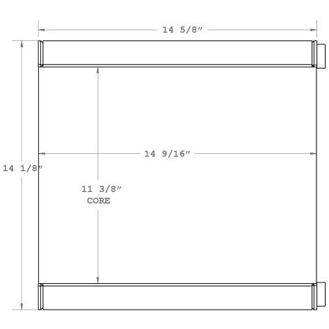 270655 - Industrial Oil Cooler Oil Cooler