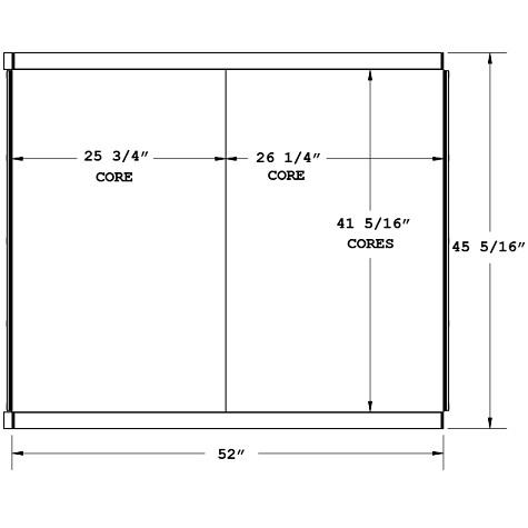 270658 - American Crane 11320 Oil Cooler Oil Cooler