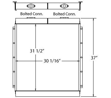 270665 - Industrial Oil Cooler Oil Cooler