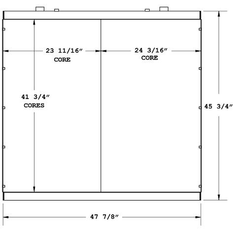 270668 - Industrial Oil Cooler Oil Cooler
