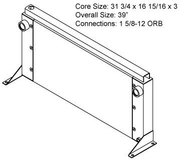 270672 - Metal Crusher Oil Cooler Oil Cooler