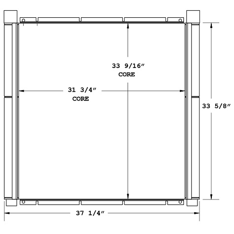 270678 - Ingersoll Rand Oil Cooler Oil Cooler