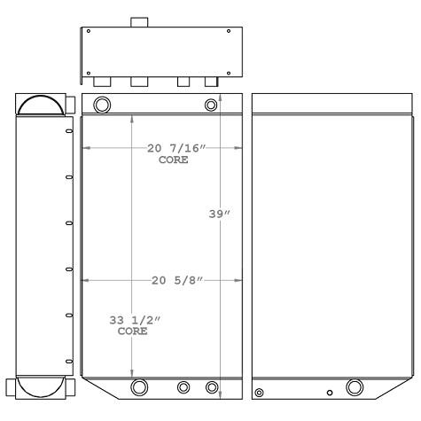 270683 - Sennebogen 860M Oil Cooler Oil Cooler