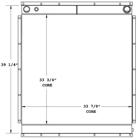 270684 - Industrial Oil Cooler Oil Cooler