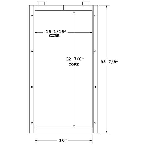 270686 - Industrial Oil Cooler Oil Cooler