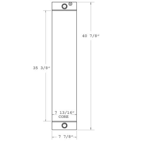 270726 - Hyster RS46-41LS Reach Stacker Lift Oil Cooler