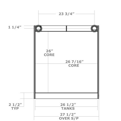270730 - Oil Cooler Oil Cooler