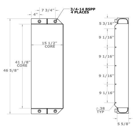 270733 - Oil Cooler Oil Cooler