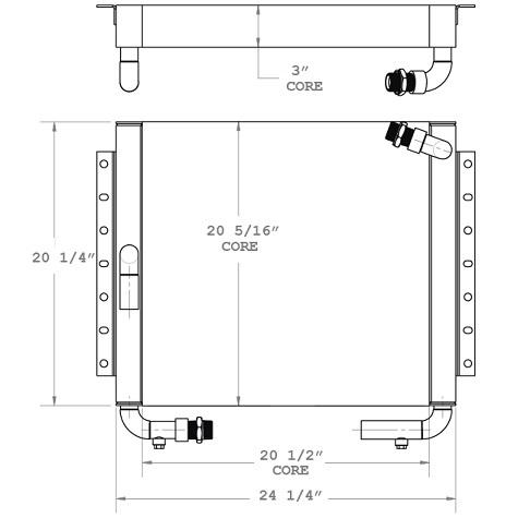 270738 - Oil Cooler Oil Cooler