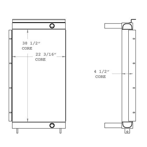 270752 - Oil Cooler Oil Cooler