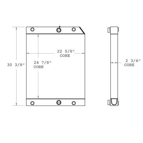 270757 - Oil Cooler Oil Cooler